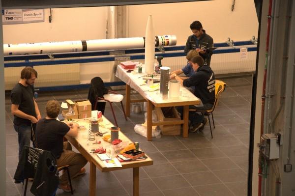 Capsule Team working