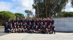The Stratos II+ launch crew