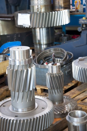 Some typical parts produced by GBS gearbox Services International