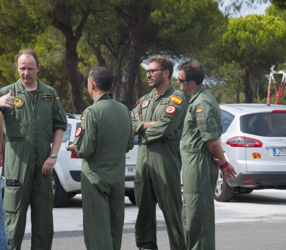 Pilots are being briefed