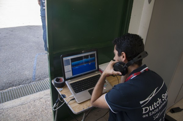 Testing the Flight Termination System