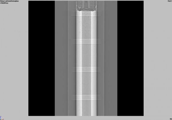 CT Scan of Solid Fuel Grain