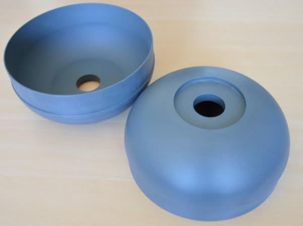 These beautiful endcaps were produced by Nieuwstraten Metaalberwerking BV