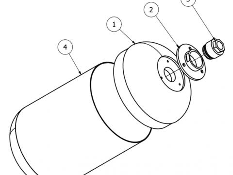 Nitrous Tank Drawing